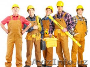 В строительную компанию требуются рабочие - Изображение #1, Объявление #1571660
